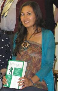 Contributor photo at The Robin Hood book launch, Dalston Kingsland London 2012
