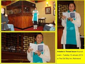 Ariadne's Thread Issue 4 Launch