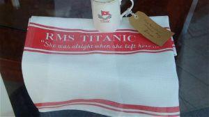 Titanic slogan in Belfast