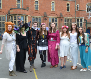 Celebrating Shakespeare at work with costume fun