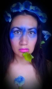Blue-tinted bindweed