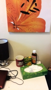 A still life snapshot of self-pity (photograph by Leilanie Stewart)